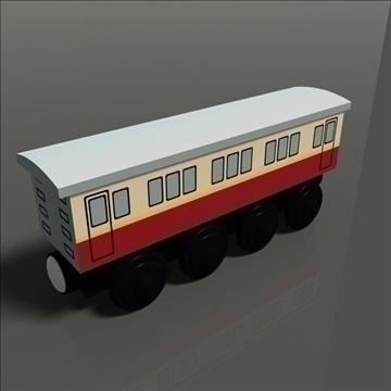 rotaļlietu vilciens 12 3d modelis max 81766