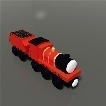 žaislinis traukinys 20 3d modelis max 81775