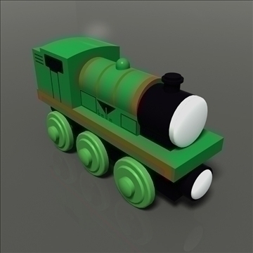 toy train 23 3d model max 81767