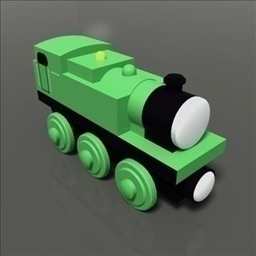 tren de joguina model 35 3d màxim 81769