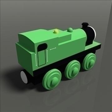 toy train 35 3d model max 81770