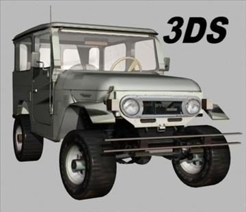 toyota 4wd 3d model 3ds 80161