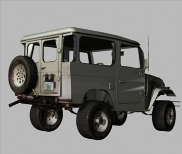 toyota 4wd 3d model 3ds 80162
