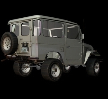 toyota 4wd 3d model 3ds 80164