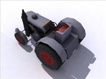tractor model 3d 3ds max obj 108407
