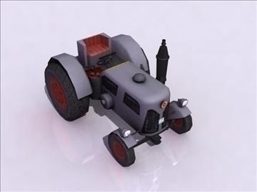 tractor model 3d 3ds max obj 108408