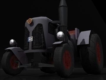 tractor model 3d 3ds max obj 108409