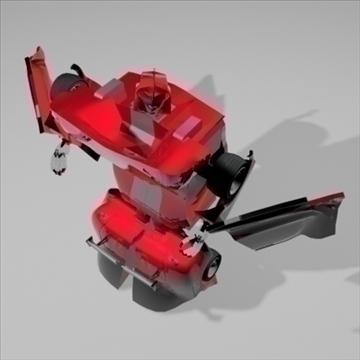 transformer sport car 3d model 3ds max 82468