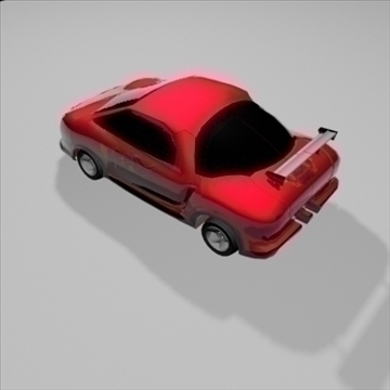 transformer sport car 3d model 3ds max 82470