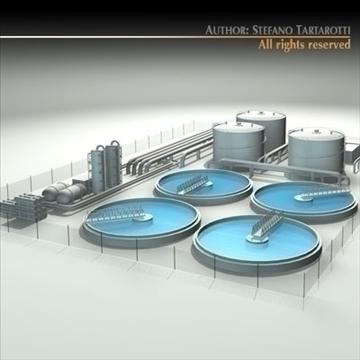 treatment plant 3d model 3ds dxf c4d obj 100866