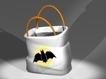 trick bag 3d model 3ds dxf lwo 81019