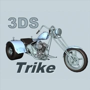 trike 3d model 3ds 92531