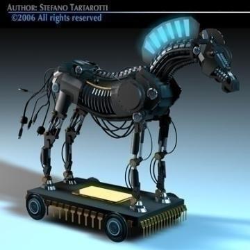 trojan horse 3d model 3ds dxf c4d obj 78218