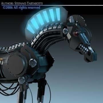 trojan horse 3d model 3ds dxf c4d obj 78220