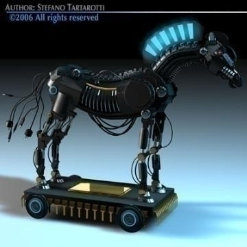 trojan horse 3d model 3ds dxf c4d obj 78222
