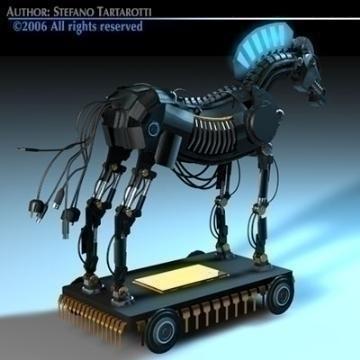 trojan horse 3d model 3ds dxf c4d obj 78223