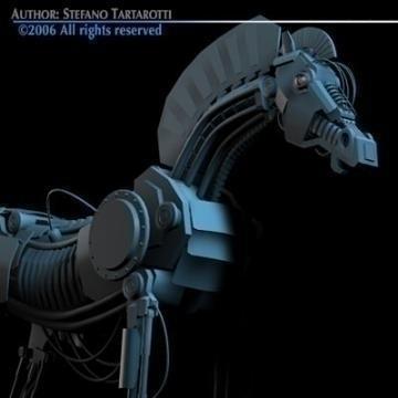 trojan horse 3d model 3ds dxf c4d obj 78226