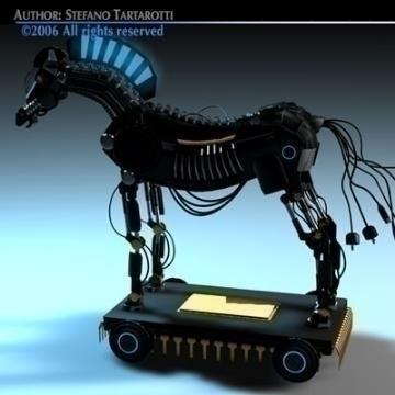 trojan horse 3d model 3ds dxf c4d obj 78227