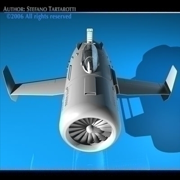 turbine bike 3d model 3ds dxf c4d obj 81144