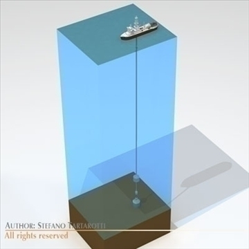 underwater oil leak repair ship 3d model 3ds dxf c4d obj 105985