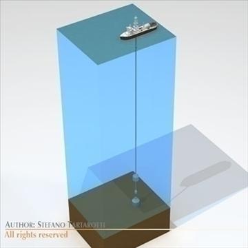 sualtı yağı sızıntısı təmir gəmisi 3d modeli 3ds dxf c4d obj 105985