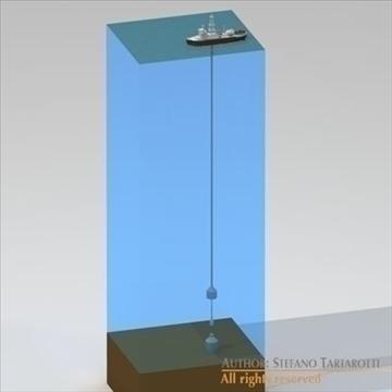 underwater oil leak repair ship 3d model 3ds dxf c4d obj 105986