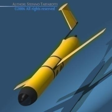underwater robot 3d model 3ds other obj 78885