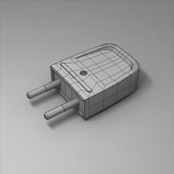 universālais spraudnis 3d modelis 3ds max fbx obj 101594