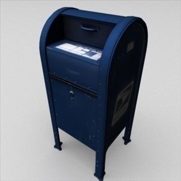 us mailbox 3d model ma mb 83244