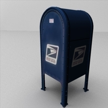 us mailbox 3d model ma mb 83245
