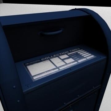 us mailbox 3d model ma mb 83246