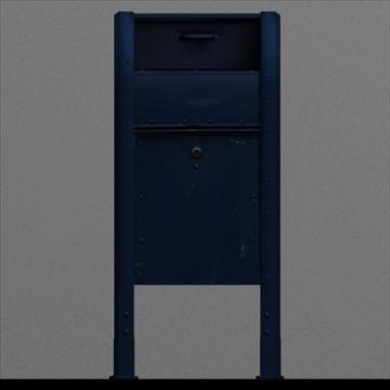 us mailbox 3d model ma mb 83247