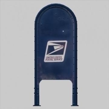 us mailbox 3d model ma mb 83248