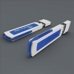 Usb flash device ( 43.55KB jpg by futurex3d )