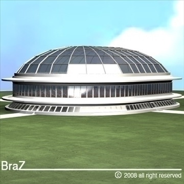 velodrome 3d model 3ds dxf c4d obj 89027
