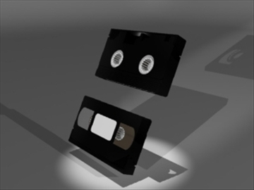 video tape 3d modeli 3ds dxf lwo 81141