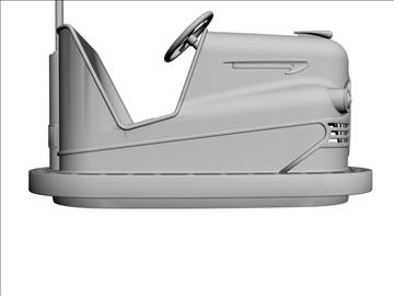 vintage bumper car 3d model 3ds dxf 98974