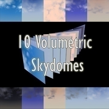 voulmetric skydomes volume 1 3d model max 82640