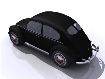 vw beetle split window 3d model 3ds max obj 108379