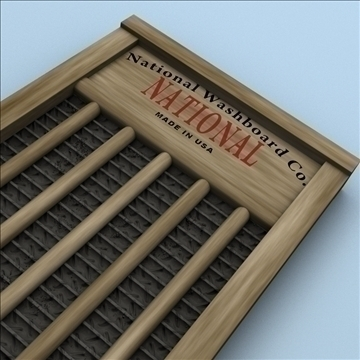 washboard 2 3d model 3ds max fbx lwo hrc xsi obj 106338