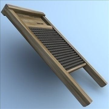 washboard 2 3d model 3ds max fbx lwo hrc xsi obj 106339