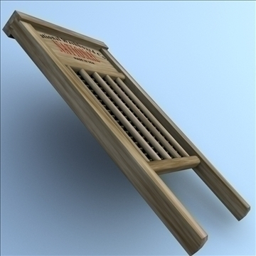 washboard 2 3d model 3ds max fbx lwo hrc xsi obj 106340