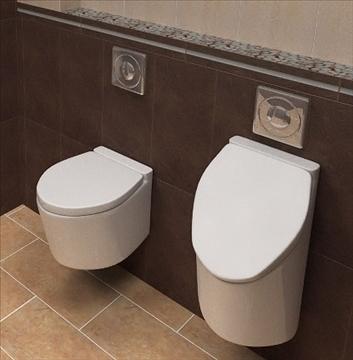 усан шүүгээний тогоо urinal товч 3d загвар lwo 82200