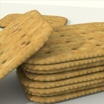 wheat crackers 3d model 3ds dxf fbx lwo other texture obj 98721