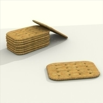 wheat crackers 3d model 3ds dxf fbx lwo other texture obj 98723