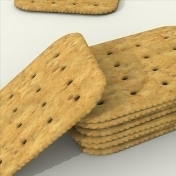 wheat crackers 3d model 3ds dxf fbx lwo other texture obj 98726