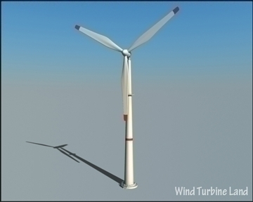 wind turbin 3d model 3ds max obj 99783