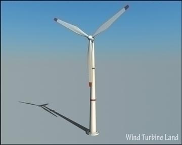 wind turbin 3d model 3ds max obj 99784