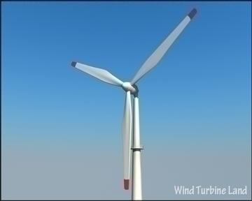 wind turbin 3d model 3ds max obj 99785
