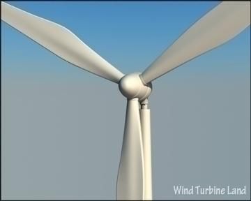 wind turbin 3d model 3ds max obj 99786